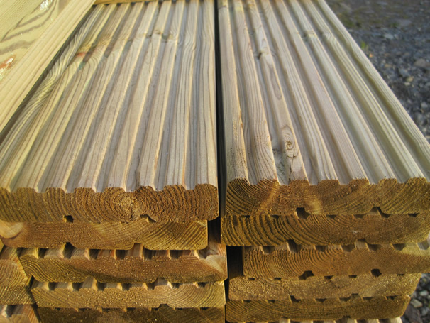Photograph of Decking Boards